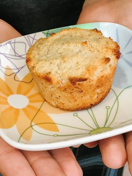 Paleo Banana Lemon Chia Muffins