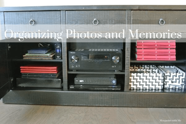 Organizing Photo Albums and Memory Books Easily At I'm an Organizing Junkie blog