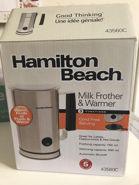 Hamilton Beach Milk Frother