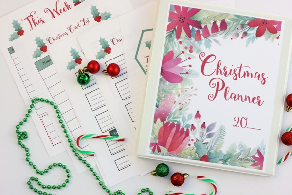 Free Printable Christmas Planner & Tips to Help You Simplify the Season