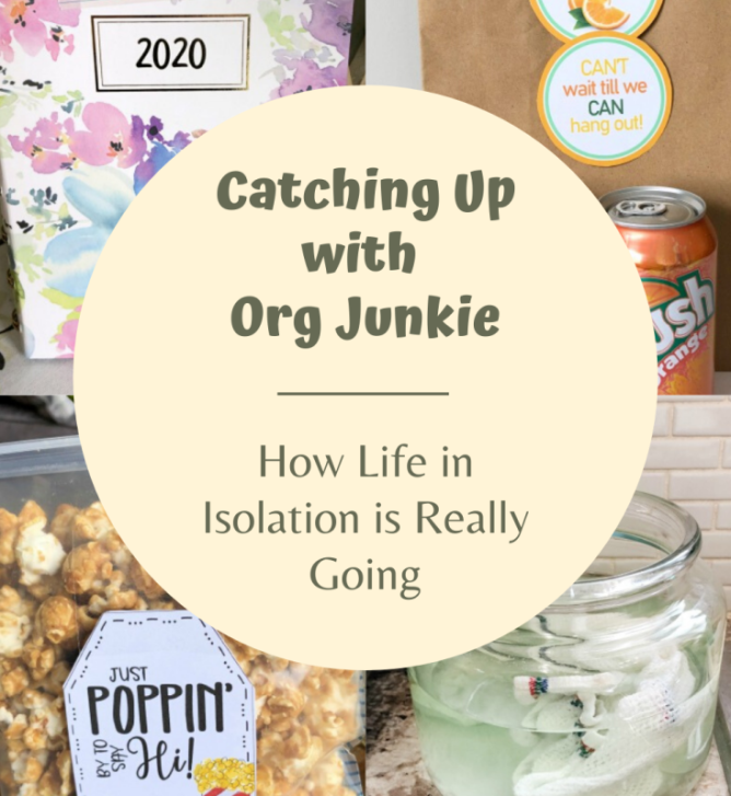 Catching Up with Org Junkie