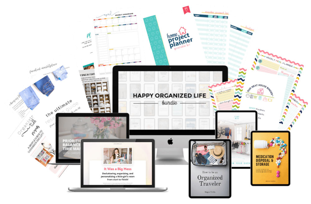 Happy Organized Life Bundle and Giveaway!
