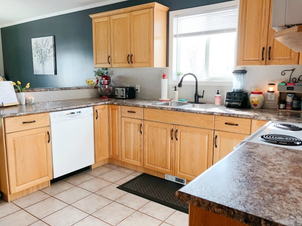 My Real Life Organized Kitchen Makeover On a Budget
