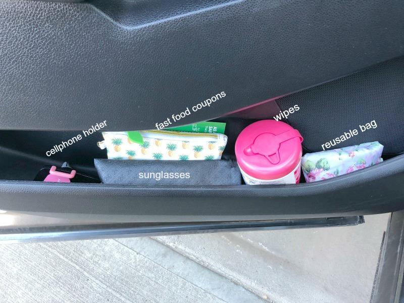 car door storage