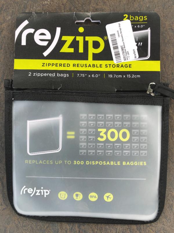 Rezip pouches