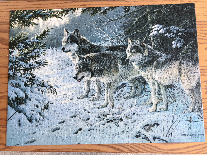 Cobble Hill wolf puzzle