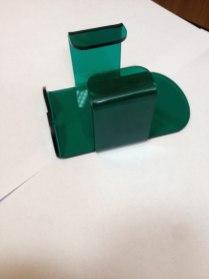 Подставка под мышку из зеленого акрила