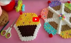 Cupcake Kese Lif Bebek Lifi Yüz Lifi