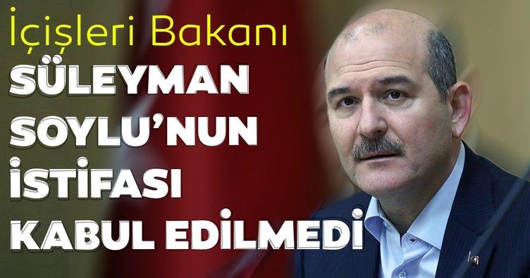 Süleyman Soylu'nun istifa kararının ardından Cumhurbaşkanlığı'ndan ilk açıklama geldi
