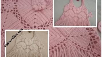 kare motifli bluz modeli
