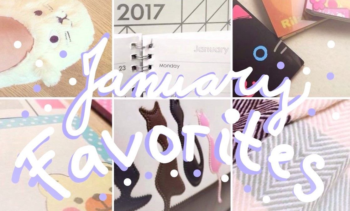 5 Monthly Favorites – January