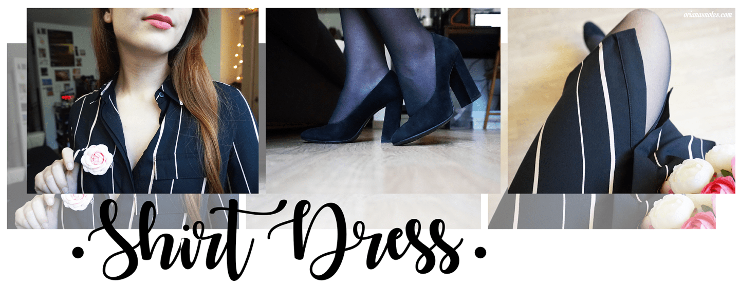 Style – Shirt Dress Outfit