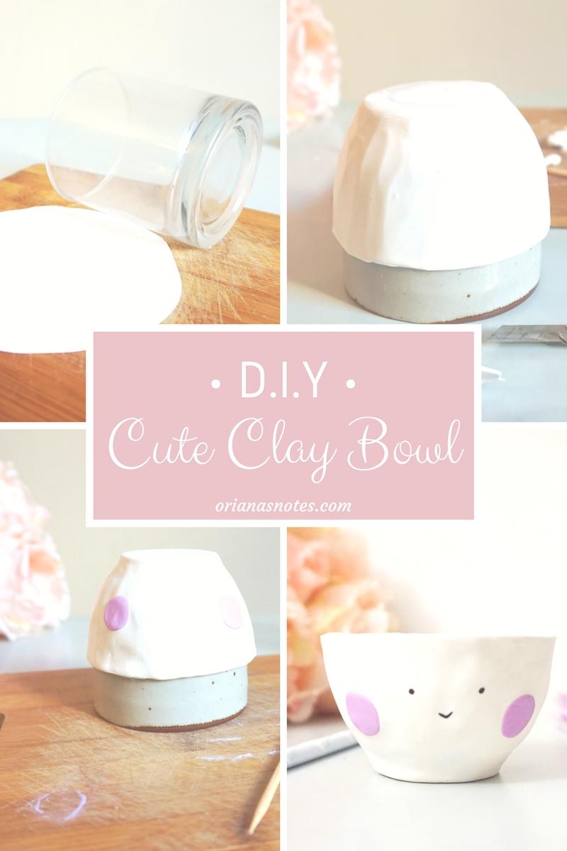 Cute Clay Bowl