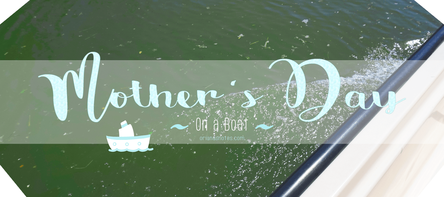 Mother's Day (on a boat)