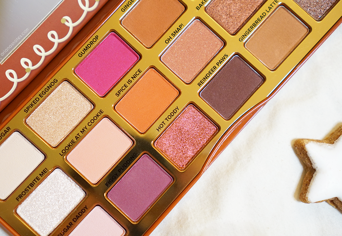 Gingerbread spice palette review