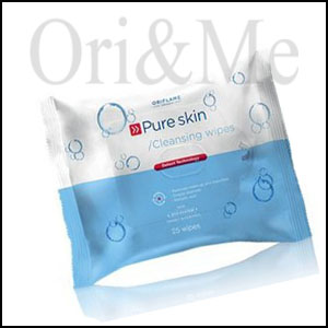 Pure Skin Cleansing Wipes