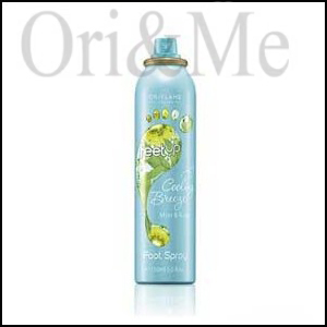 Cooling Breeze Mint & Kiwi Foot Spray