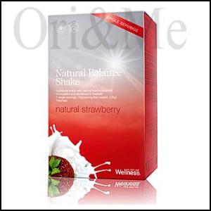 Natural Balance Shake 7 Single-servings of Natural Strawberry
