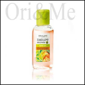 Nature Secrets Hand Gel with Anti-bacterial Extracts Tea Tree & Mandarin