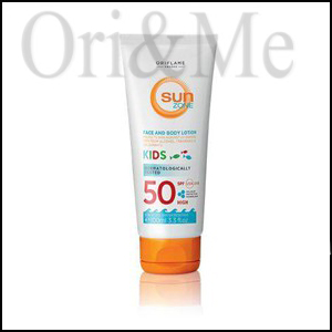 Sun Zone Face & Body Lotion Kids SPF 50 High