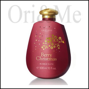 Berry Christmas Bubble Bath