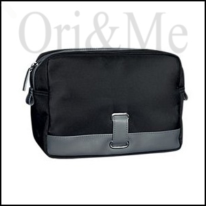 Black & Grey Men's Toiletry Bag