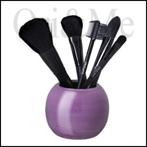 Dazzle Floral Cosmetic Brush Holder