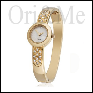 Elegant Golden Watch