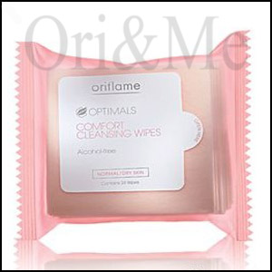 Optimals Comfort Cleansing Wipes