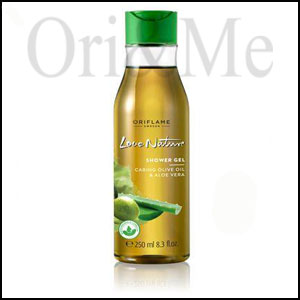 Love Nature Shower Gel with Moisturising Olive Oil & Aloe Vera
