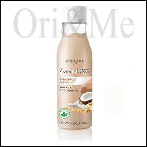 Love Nature Shampoo for Dry hair with Wheat & Coconut Milk