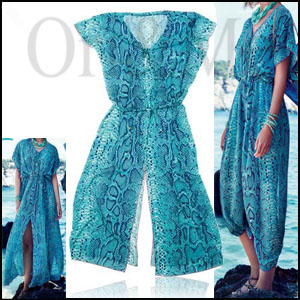 Blue Wonders Kaftan