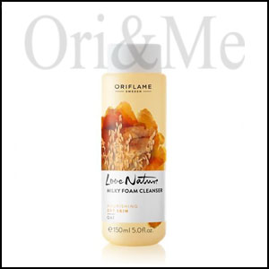 Love Nature Mild & Nourishing Milky Foam Cleanser Oat