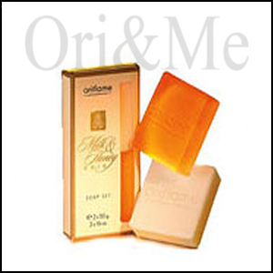Milk & Honey Gold Soap Set