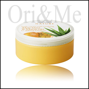 Body Cream with Soothing Aloe Vera & Maracuja