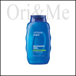 Men Cool Down Shower Gel with Refreshing Menthol