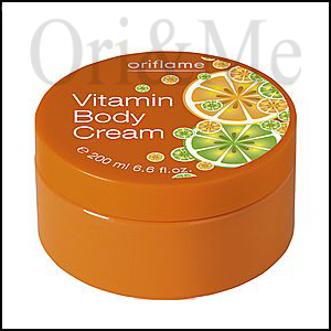 Vitamin Body Cream