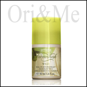 Savannah Wild Roll-on Anti-perspirant Deodorant