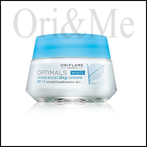 White Oxygen Boost Day Cream SPF 15 Normal/Combination Skin