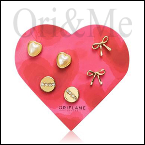 Valentina Heart Set Earrings