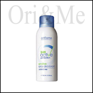 Oriflame 24H Active Protection Sensitive Spray Deodorant
