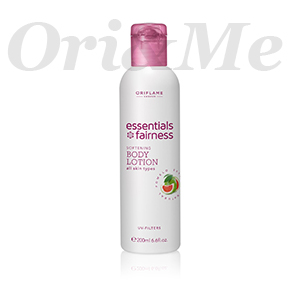 ESSENTIALS Fairness Softening Body Lotion UV Filters