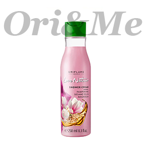 LOVE NATURE Shower Cream Pampering Sesame Oil & Magnolia