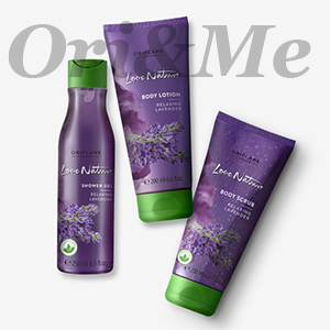Love Nature Lavender set