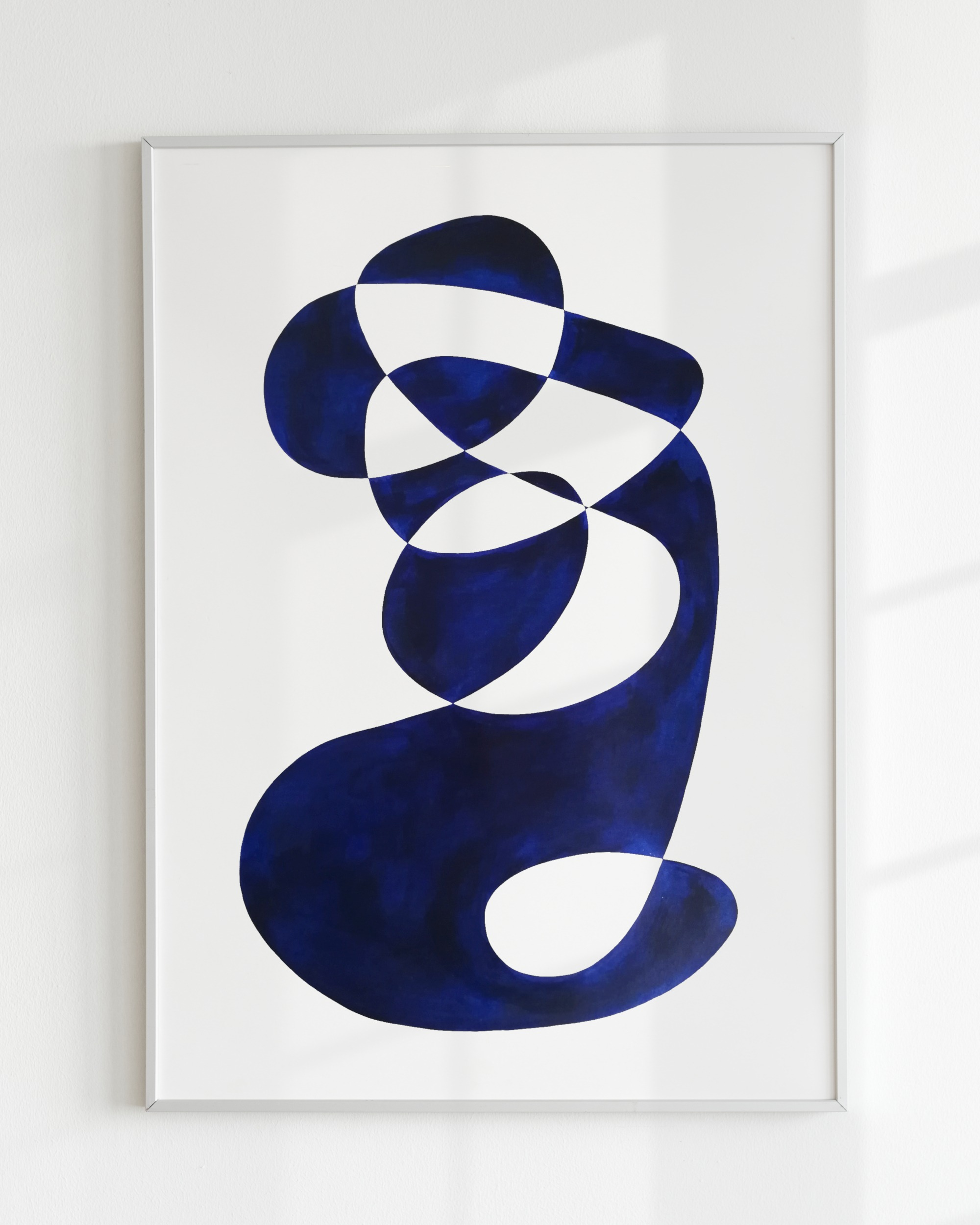 SHAPE STUDY – Bleu de prusse small II