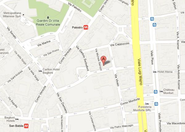Mappa Sede Oricon