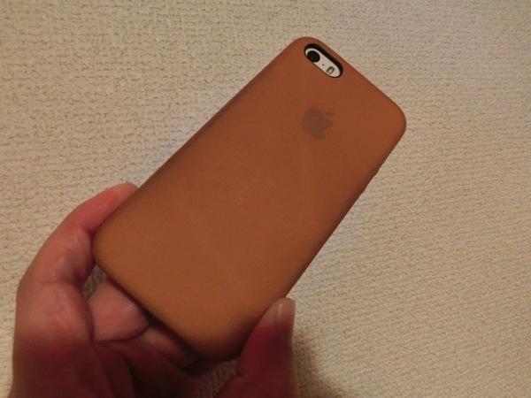 ケースに入れたiPhone 5s