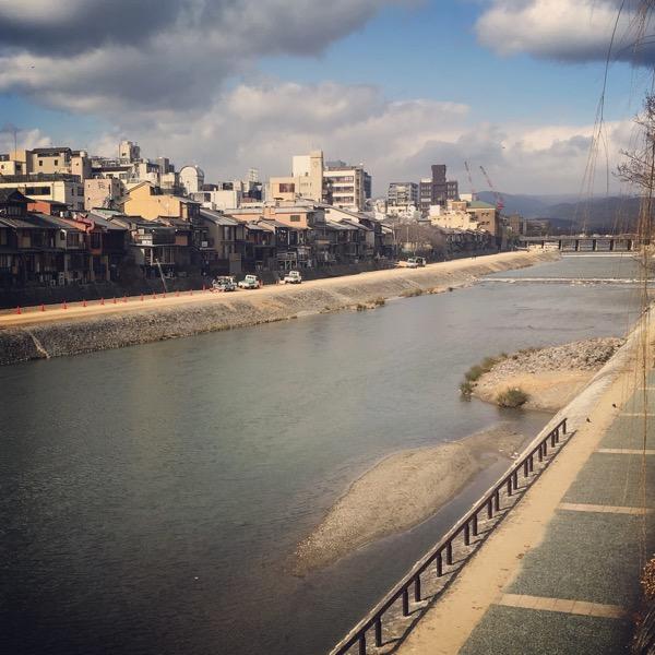 2月の鴨川
