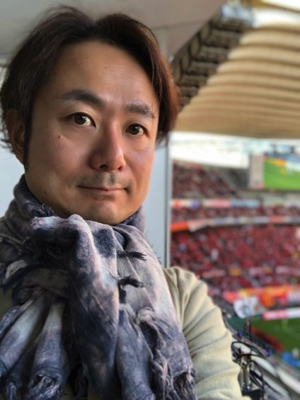 Portrait at toyota stadium