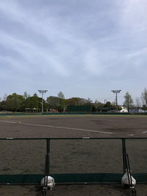 岐阜県大垣市浅中公園ソフトボール場